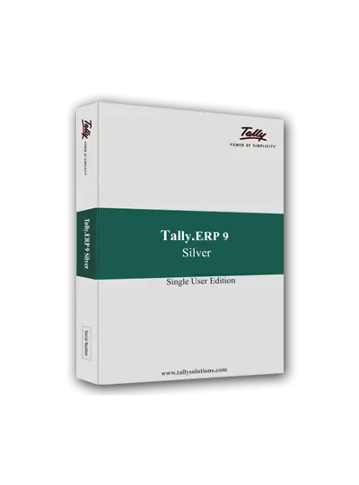 Tally Prime Single Silver Single User